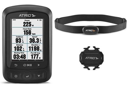 Imagem 1 de 6 de Gps Atrio Titanium Bi155 Bluetooth Sensores + Cinta + Mapas