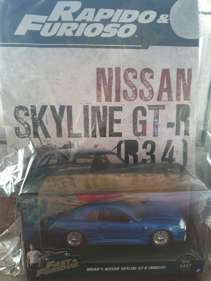 Colección Rápido Y Furioso. Nissan Skyline Gt-r
