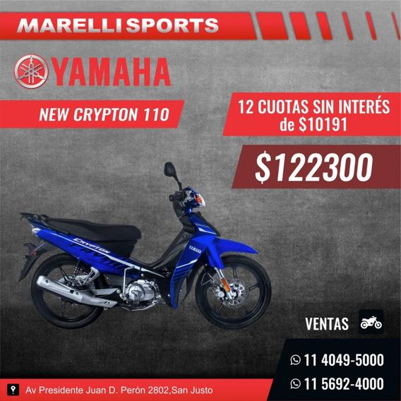 Yamaha Crypton 12 Cuotas Sin Interés En Marelli Sports