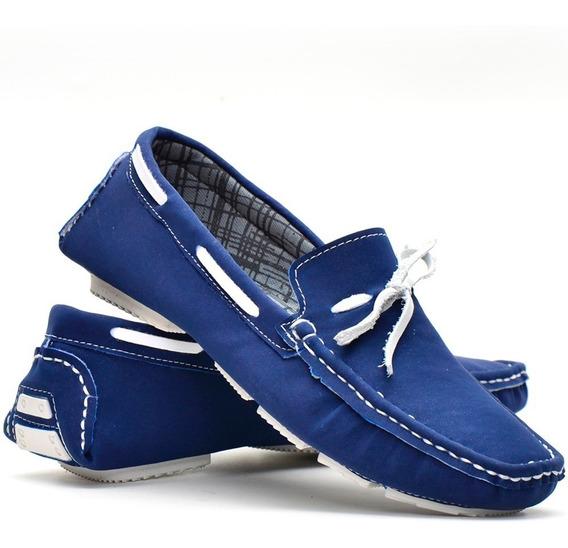 Sapato Macassim Drive Azul Vermelho Marrom Preto Lançamento