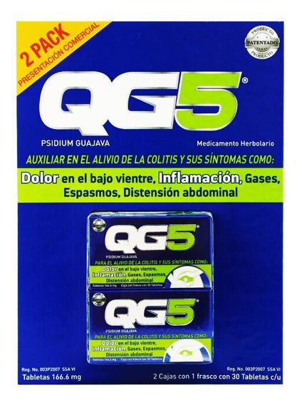 Qg5 60 Tabletas Paquete Con 2 Frascos De 30 Tabletas C/u