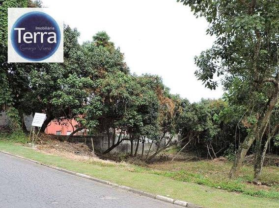 Terreno Residencial À Venda, Terras Do Madeira, Granja Viana. - Te0559