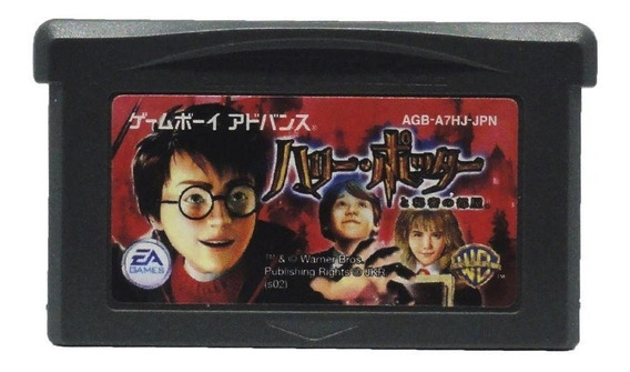 Harry Potter And The Chamber Of Secrets Gba Japonês Física