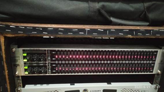 Equalizador Behringer 31 Band Fqb3102 Semi Novo 220v Ou 110v