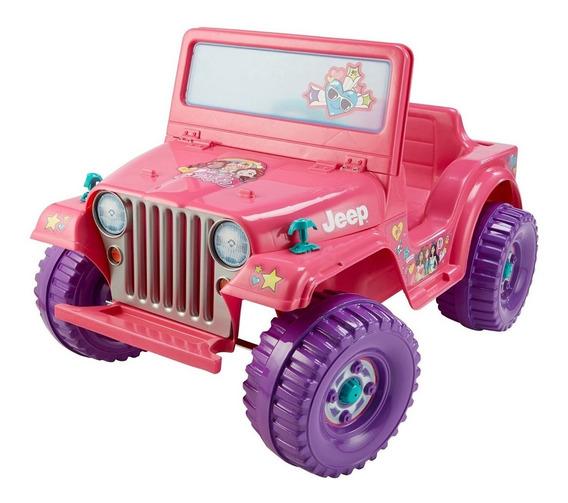 Jeep Montable Electrico Para Niñas Power Wheels 6v