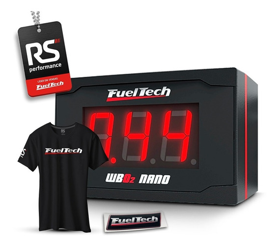 Fueltech Wide Band O2 Nano S/ Sonda Chicote 2m (wideband)