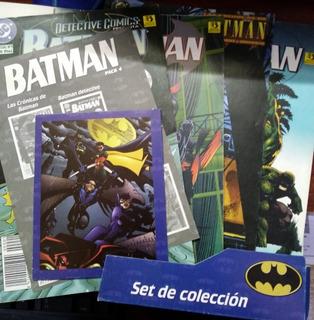 Batman Set De Colección 4 Ejemplares Dc Comics Español