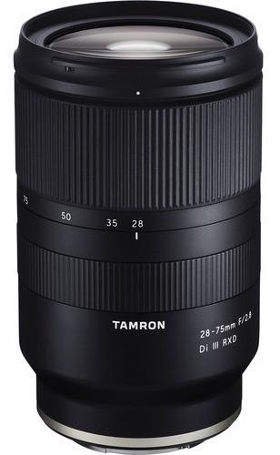 Lente Tamron 28-75mm F/2.8 Di Iii Rxd P/ Sony - Lj. Platinum