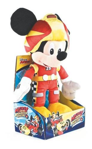 Peluche Mickey Mouse Aventura Sobre Ruedas En Caja 35cm