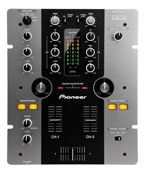 Mixer Pioneer Djm 250 (na Caixa) Sem Nenhum Dano Fisico