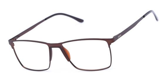 Armação Oculos Grau Masculino Avano Av 495-c Metal Original