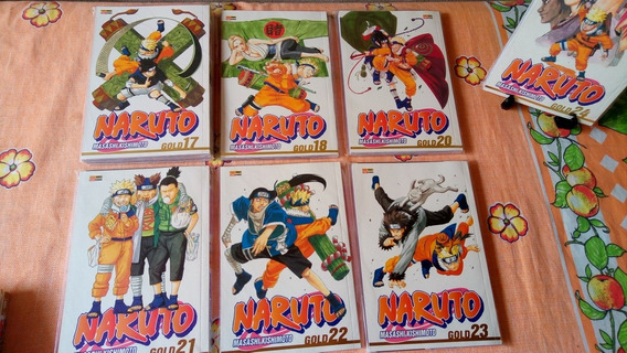 Naruto Gold 17, 18 Ou 20