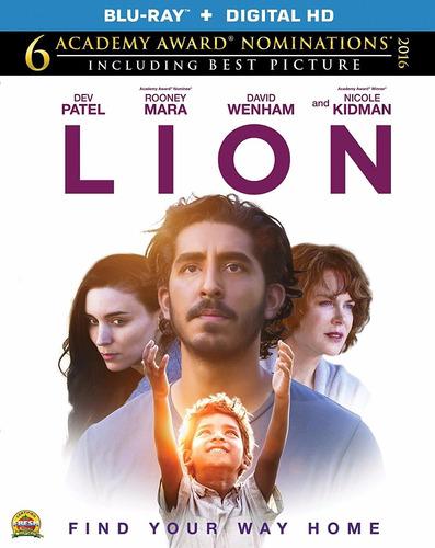Imagen 1 de 3 de Blu-ray Lion / Un Camino A Casa