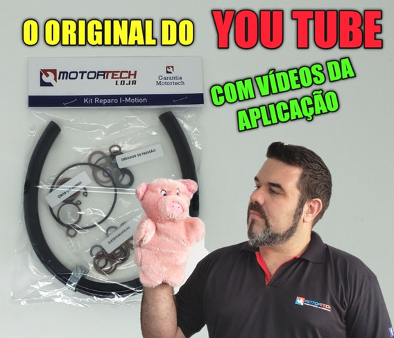 Kit Reparos Robô I-motion, Com Anéis De Encosto E Tampão.