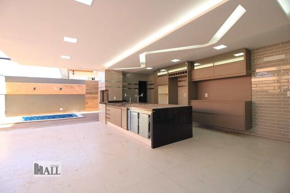 Casa À Venda Cond. Damha V, 4vgs, 270m², 4suítes, Sj Rio Preto - V5451