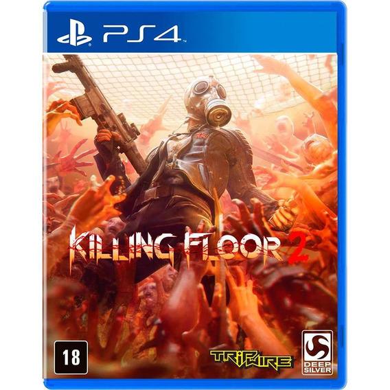 Killing Floor 2 Jogo Ps4 Mídia Fisica Novo Lacrado