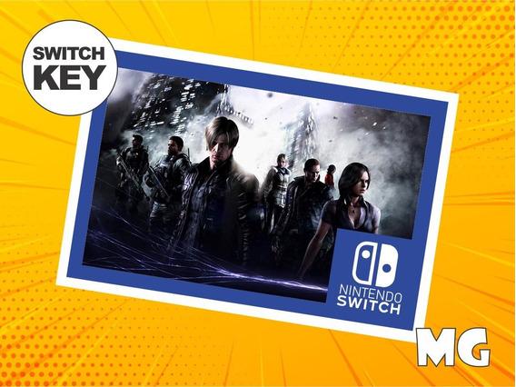 Resident Evil 6 - Jogo Nintendo Switch Digital