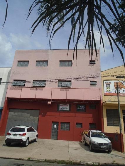 Barracão Comercial Para Locação. - Ba0022