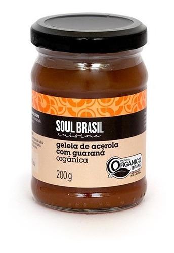 Geleia Orgânica Acerola Com Guaraná 200 G - Soulbrasil