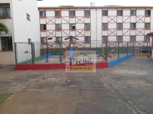 Imagem 1 de 16 de Apartamento  Residencial À Venda, Jardim João Paulo Ii, Sumaré. - Ap0558