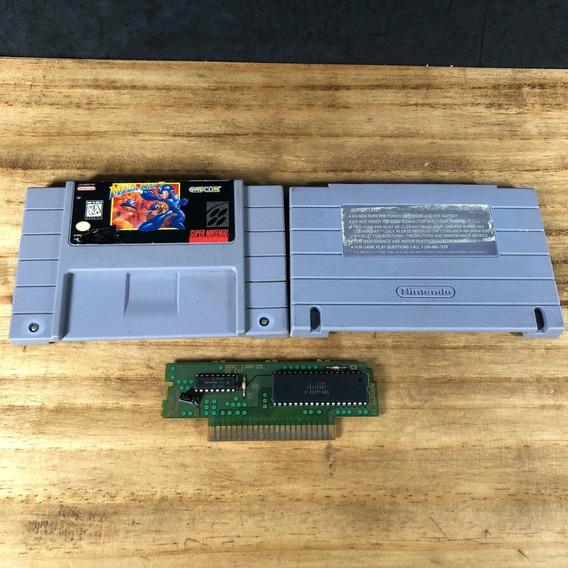 Mega Man 7 100% Original P/ Snes Super Nintendo - Raridade!!