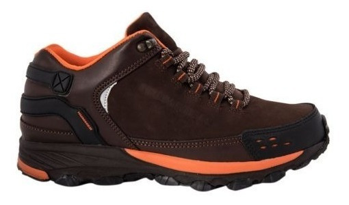 Zapato Hiker Hummer M411 Color Cafe Originales 170574
