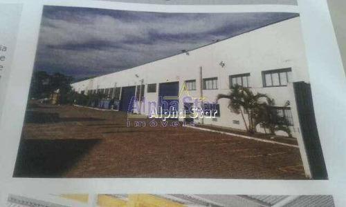 Imagem 1 de 4 de Galpão Industrial Para Locação, Parque Anhanguera, Osasco - Ga0027. - Ga0027