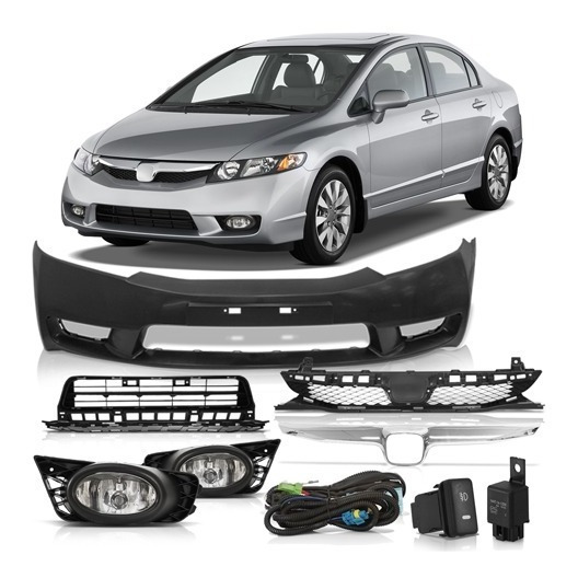 Kit Transformação New Civic 2007 2008 Para 2011