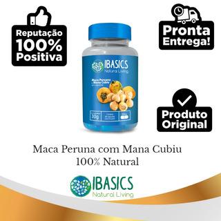Suplemento 100% Natural Maca Peruana/mana Cubiú Para Fitness