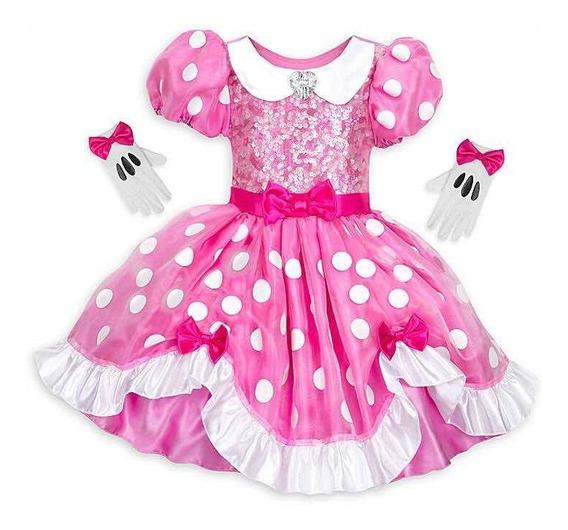 Disfraz Vestido De Minnie Mouse 2019 Orig. Disney Store