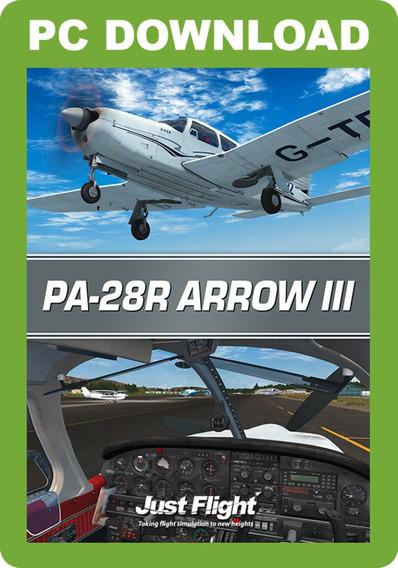 Aeronave Muito Realista Pa-28r Arrow Iii For Fsx & P3d
