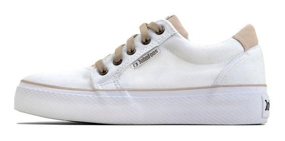 Zapatillas John Foos 752 Claw White Plataform Tienda Oficial