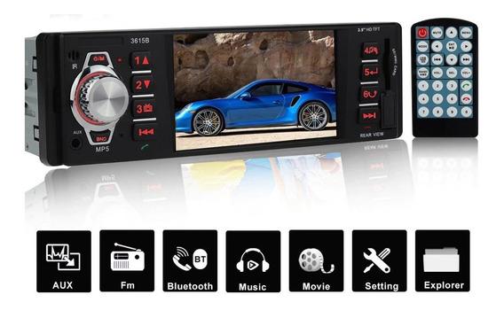 Radio Mp3 Mp4 Mp5 Bluetooth Vídeo Player Lcd 4 Fm Usb Sd