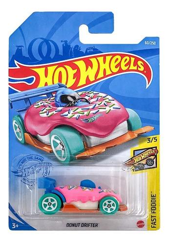 Carrinho Hot Wheel À Escolha - Edição Fast Foodie - Mattel
