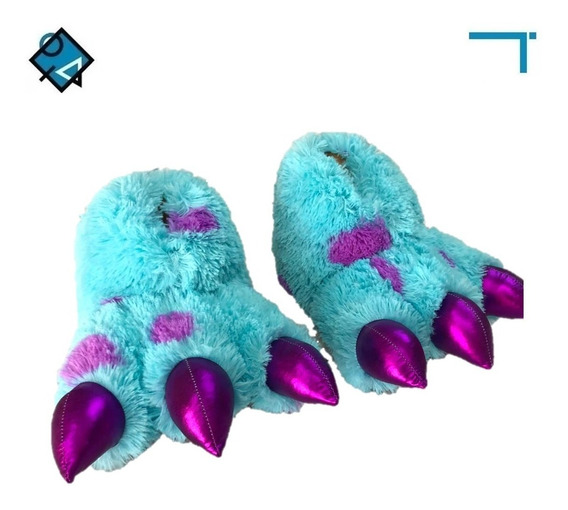 Pantuflas De Garras De Sullivan Monster Inc. Envío Gratis