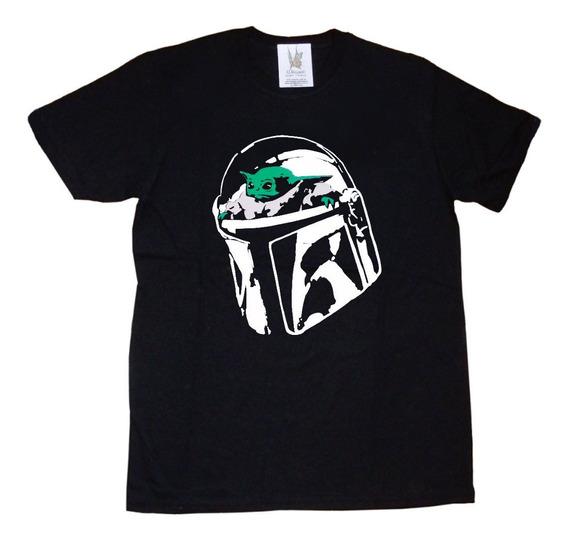 Remeras Estampa Vinilo Star Wars Baby Yoda The Mandalorian
