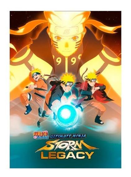 Naruto Shippuden Ninja Storm Legacy Pc - Steam Key