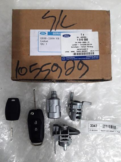 Kit Cilindros Chaves Controle Ford Focus ( Original Novo )
