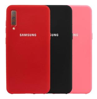 Estuche Protector Silicone Case Samsung Galaxy A7 2018