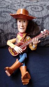 Woody Americano Toy Story Edição Limitada De 2001 Completo!
