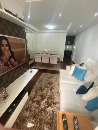 Imagem 1 de 14 de Belíssimo Apartamento No Bairro Homero Thon, S. André - Sp
