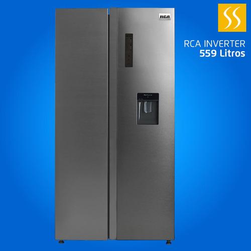 Refrigeradora Rca Side By Side 559lt Inverter Dispensador