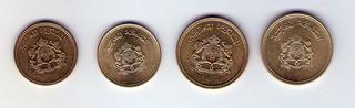 Lote De Monedas Africanas De Marruecos