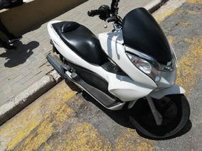 Honda Honda Pcx 150 Branca Pcx 2014