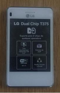 Smartphone Lg T375 No Estado (saldo, Sem Bateria, Sem Tampa)