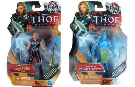 Thor The Mighty Avenger [2010] Lote 2 Pzas Envío Gratis