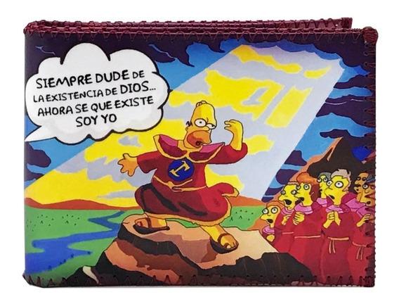 Billetera Homero Dios - Sexta Magios Con Tarjetero