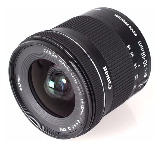 Lente Canon 10-18mm Envio No Mesmo Dia Até 13hs