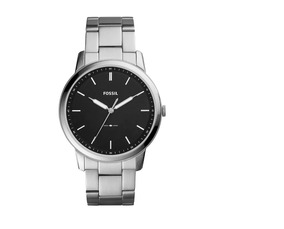 Relógio Fossil Super Slim Prata - Fs5307/1pn