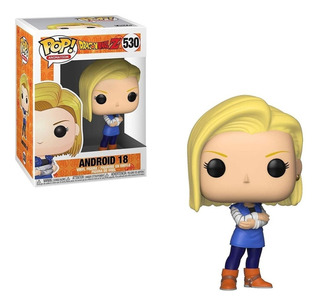 Funko Pop Dragon Ball Z Android 18 Modelo 530 Soy Gamer Bera